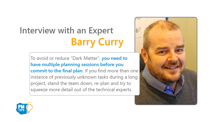 """Dark Matter"" – One of Software Project Manager's Biggest Risks"