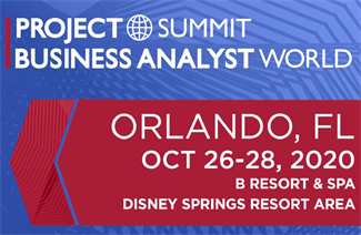 ProjectSummit* BusinessAnalystWorld Orlando