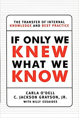 If Only We Knew What We Know: The Transfer of Internal Knowledge...