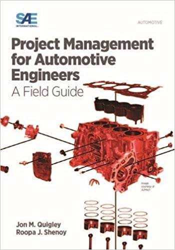 Why You Should Read Project Management for Automotive Engineers