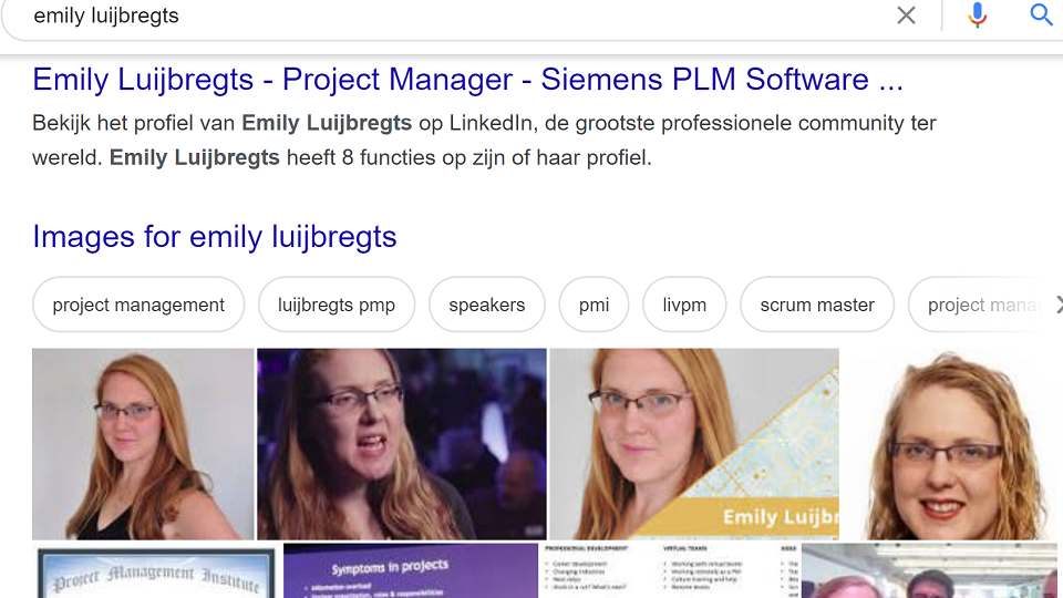 Project Manager Emily Luijbregts