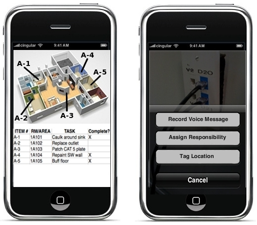 iphone punch list final1 Construction Project Management: Bringing Your Punch List into the 21st Century