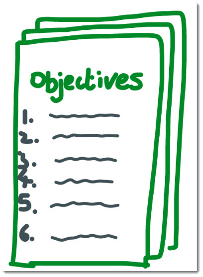 6 types of project objectives